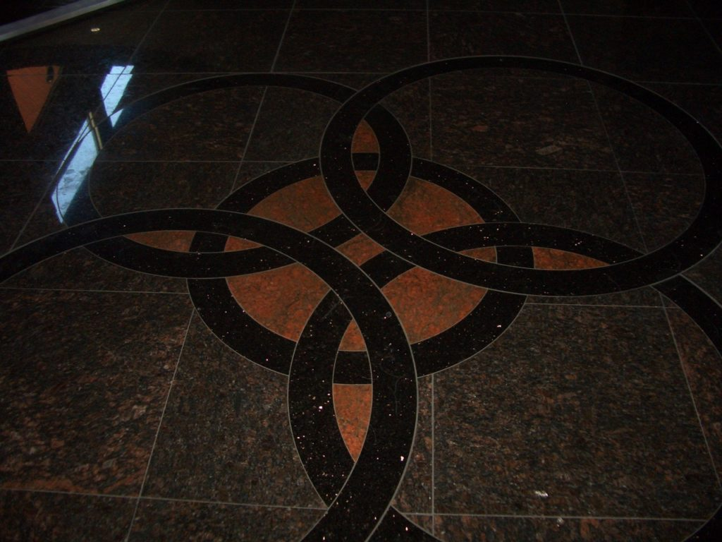 stone flooring by Stone Age Marble and Granite