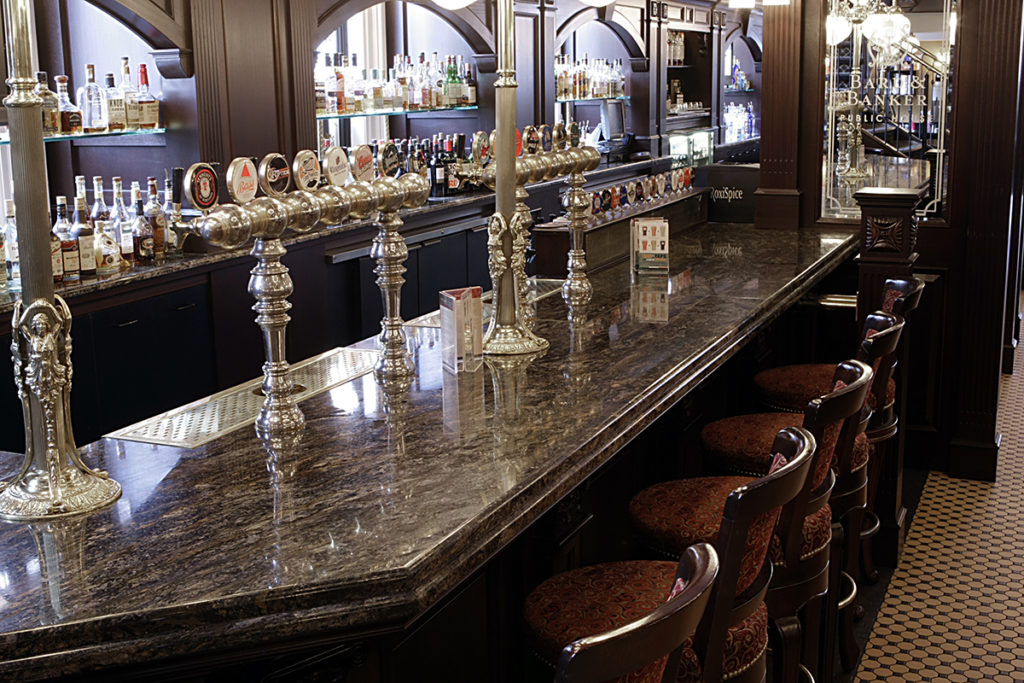 bard and banker marble counter